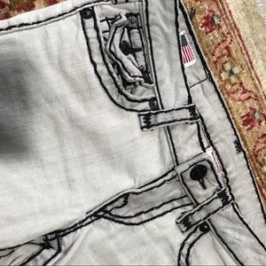 rag & bone Jeans - True Religion slim skinny julie design grey jeans